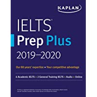 IELTS Prep Plus 2019-2020: 6 Academic IELTS + 2 General Training IELTS + Audio + Online