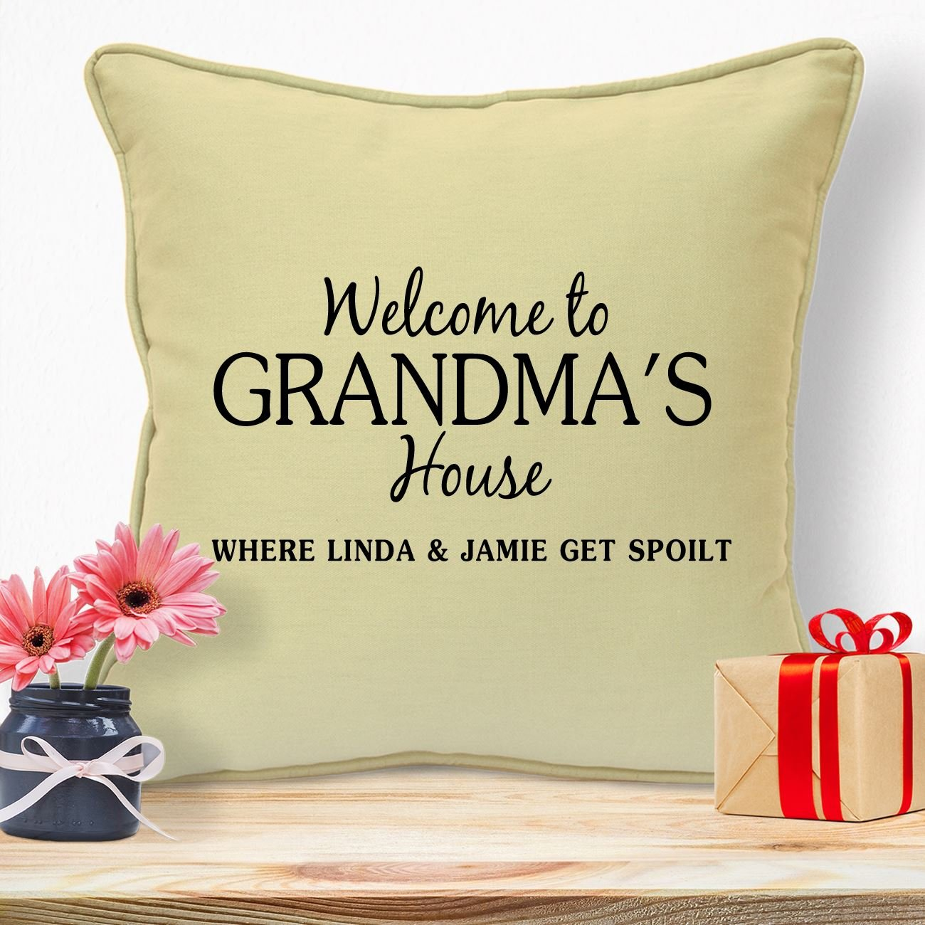 Personalised Gifts For Grandma Nanny Granny Mothers Day Birthday Christmas Xmas From Grandson Granddaughter Grandchildren Grandkids