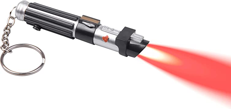 Amazon.com: Star Wars Darth Vader llavero de sable de luz ...