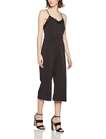 f77fa7c3afc4 New Look Women s Lattice Cold Shoulder Jumpsuit  Amazon.co.uk  Clothing