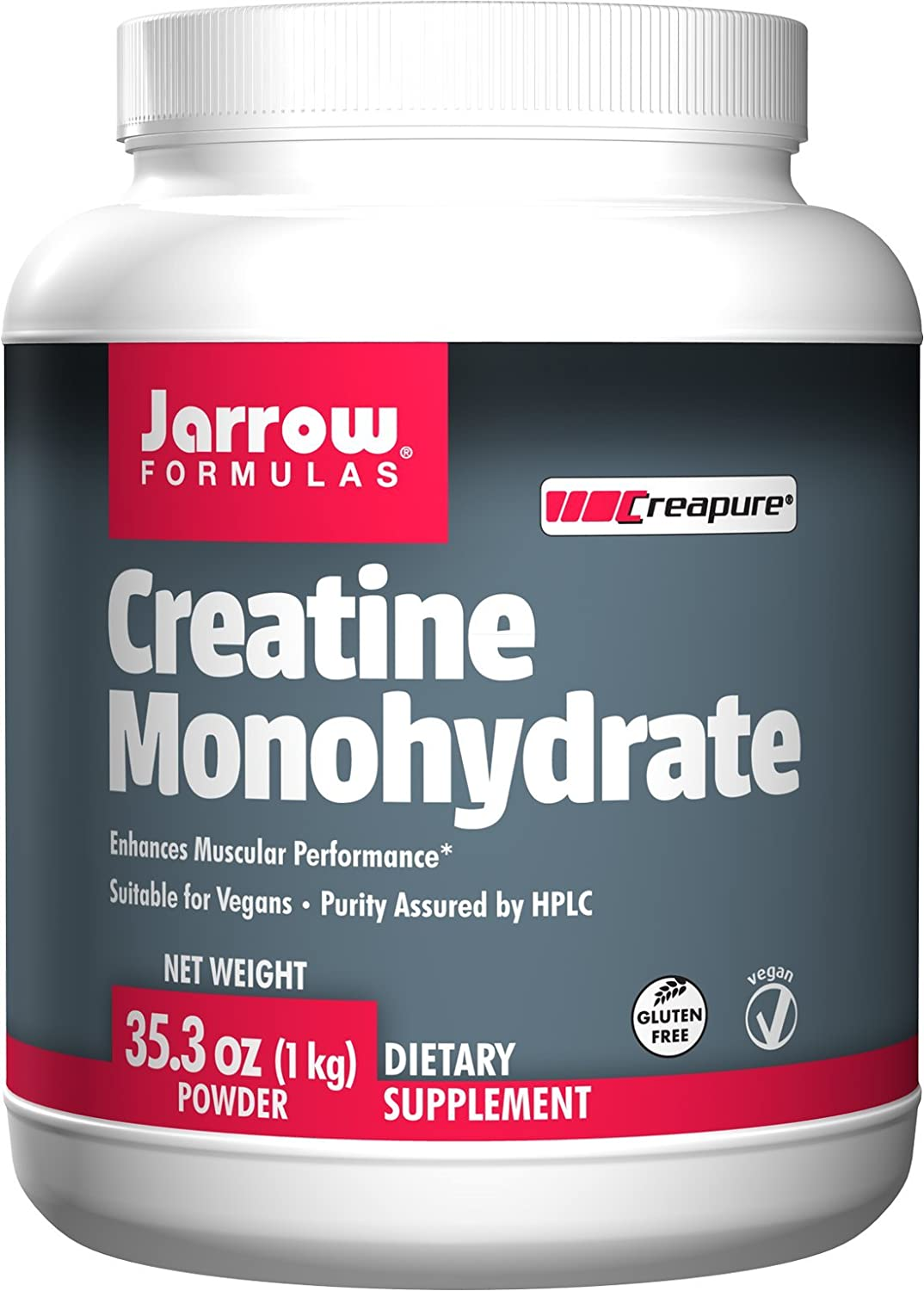 Jarrow Formulas – Creatine Monohydrate Powder – 35.3oz 1 kg