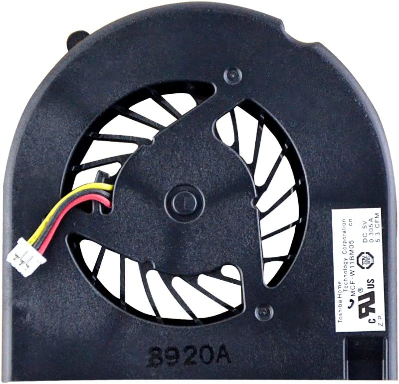 Eathtek Replacement CPU Cooling Fan for HP Compaq CQ50 CQ60 G50 G60 489126-001 KSB05105HA-8G99 Series (3 mounting Holes)