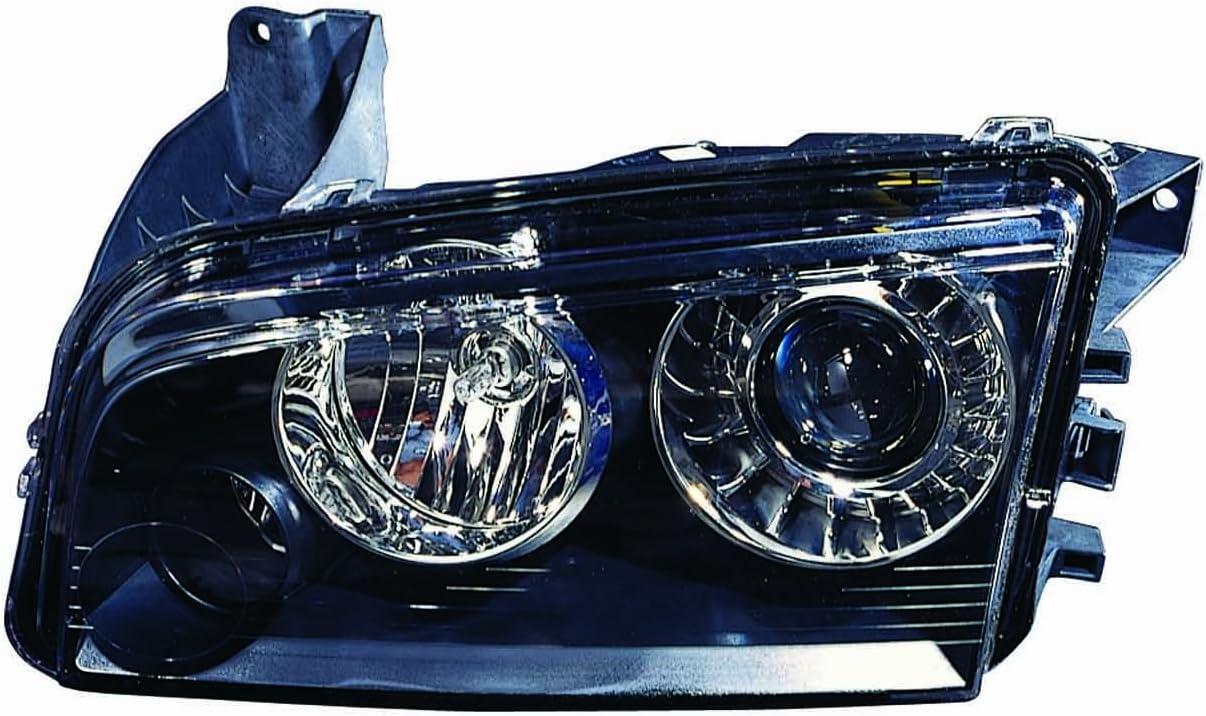 Larson Electronics 1015P9IWUQ4 2005 Buick CENTURY Post mount spotlight 6 inch 100W Halogen -Chrome Driver side WITH install kit