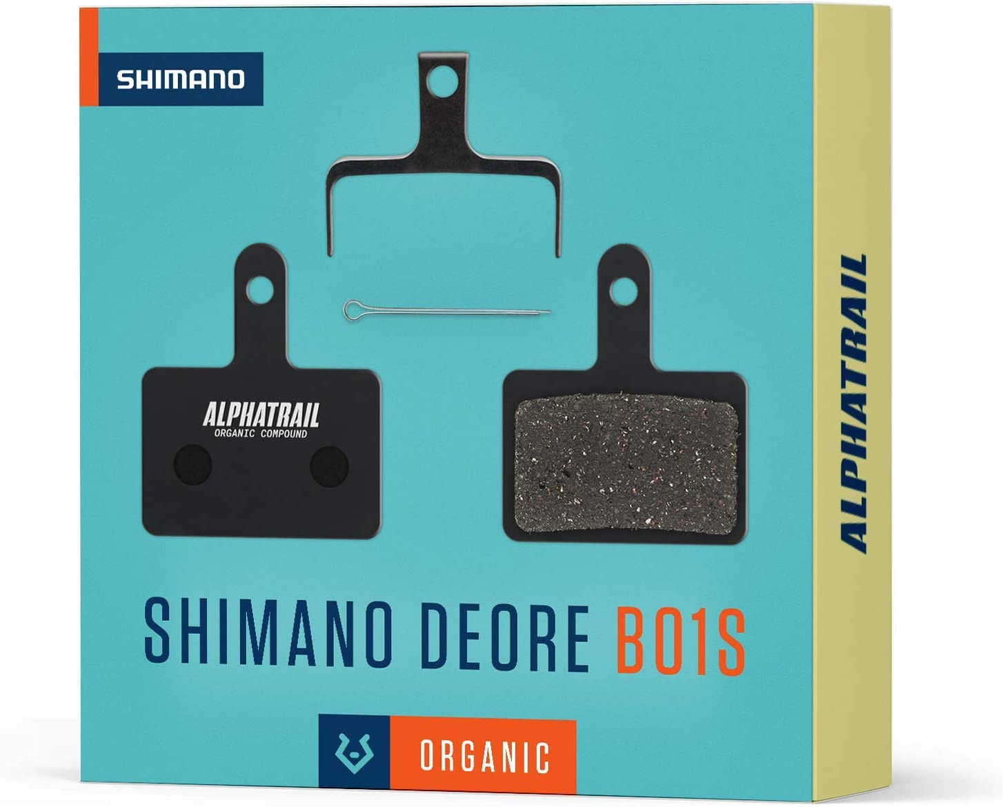 Shimano B01S I Organique /& Fritt/é VTT Plaquette de Frein avec Un Kilom/étrage /élev/é I 100/% Parfait pour Shimano Deore LX Alivio Acera Tourney Nexave Alphatrail Plaquettes de Frein