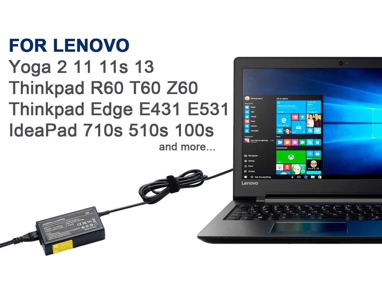 Cargador portátil portátil Power-Fast para Lenovo Yoga 2 11 ...
