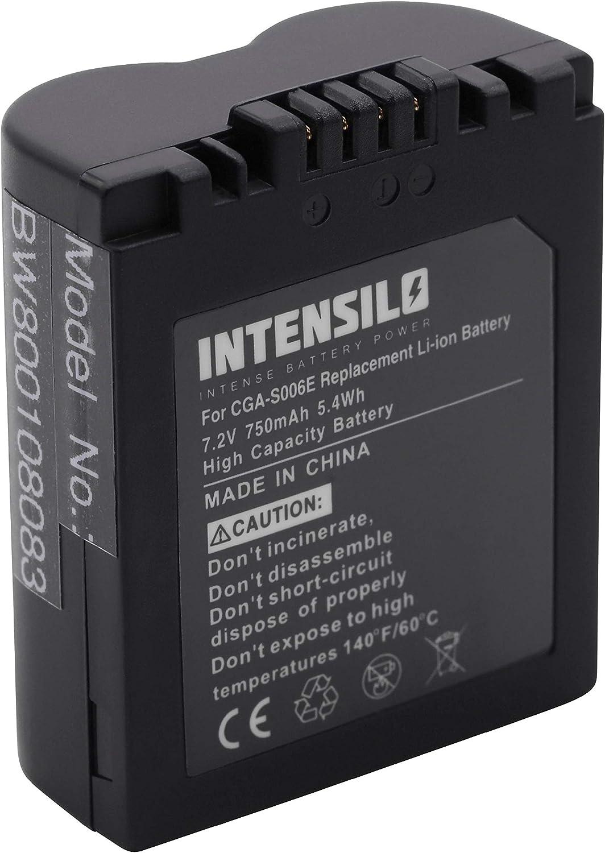 Intensilo Li Ion Akku 750mah Für Kamera Camcorder Elektronik