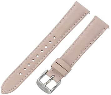3506edebf Image Unavailable. Image not available for. Color: Fossil Women's S161015  White Leather 16mm Watch Strap
