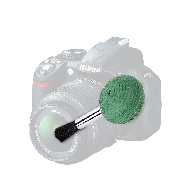 DURAGADGET Bomba Limpiadora De Polvo Y Arena Con Cepillo Para La Cá mara Nikon D3200