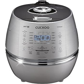 Amazon.com: Cuckoo CRP-DHSR0609F 6 Cup 120V IH Pressure