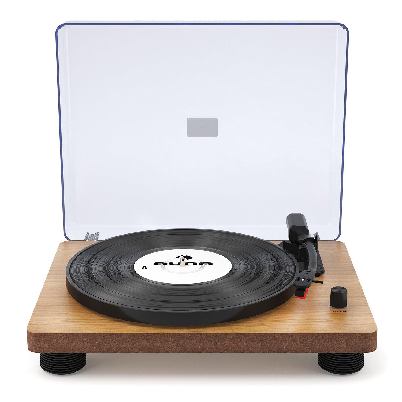 auna TT-Classic WD - Tocadiscos , Reproductor de vinilos ...