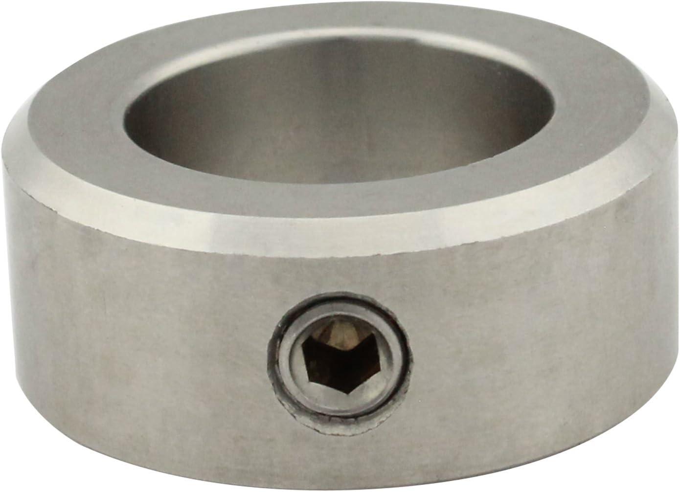 V2A Stellring 1, Innen-/Ø = 26 mm Kiefer24 Edelstahl A2 Stellringe DIN 705 A2 mit Gewindestift DIN 914