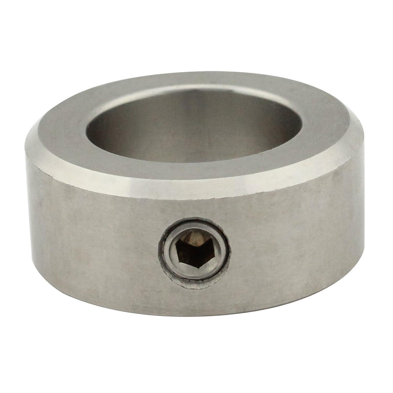 5 St/ück - A12 - SC705 Stellringe f/ür Welle // Achse mit Gewindestift DIN 914, mit Spitze Innen-/Ø = 12 mm - Edelstahl A2 - DIN 705 Form A SC-Normteile V2A