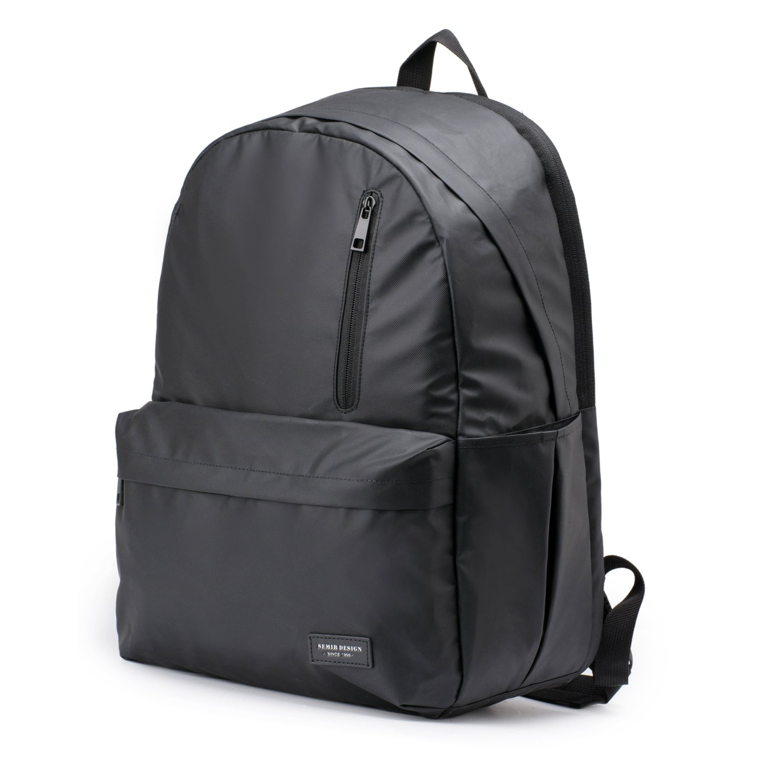 Laptop Backpack, Anti Theft Water Resistant College School Backpack,Travel Computer Bag for Women  Men,Business Backpack Fits Under 17.3-Inch Laptop and Notebook by Semir(Black)