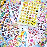 robot baymax - Adam Victor™ Kids Sticker, Large Size 3D Cartoon Puffy Stickers for Children Scrapbooking,12 Sheets,Including Car, Spider-Men, Mickey, Barbie Princesse, Minion, Big Hero 6 Robot Baymax and More!