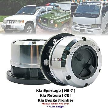 2 x 26 llaves de acero de cubos de bloqueo para Kia Sportage NB-7 Retona Bongo: Amazon.es: Coche y moto