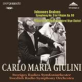 ブラームス:交響曲第3番/ラヴェル:マ・メール・ロワ ジュリーニ(指揮)スウェーデン放送響