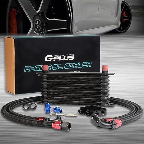 10Row Oil Cooler Kit For BMW N54 Engine Twin Turbo 135 E82 335 E90 E92 E93