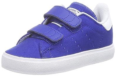 adidas Stan Smith Vulc, Baskets premiers pas bébé garçon Bleu Blau (Collegiate