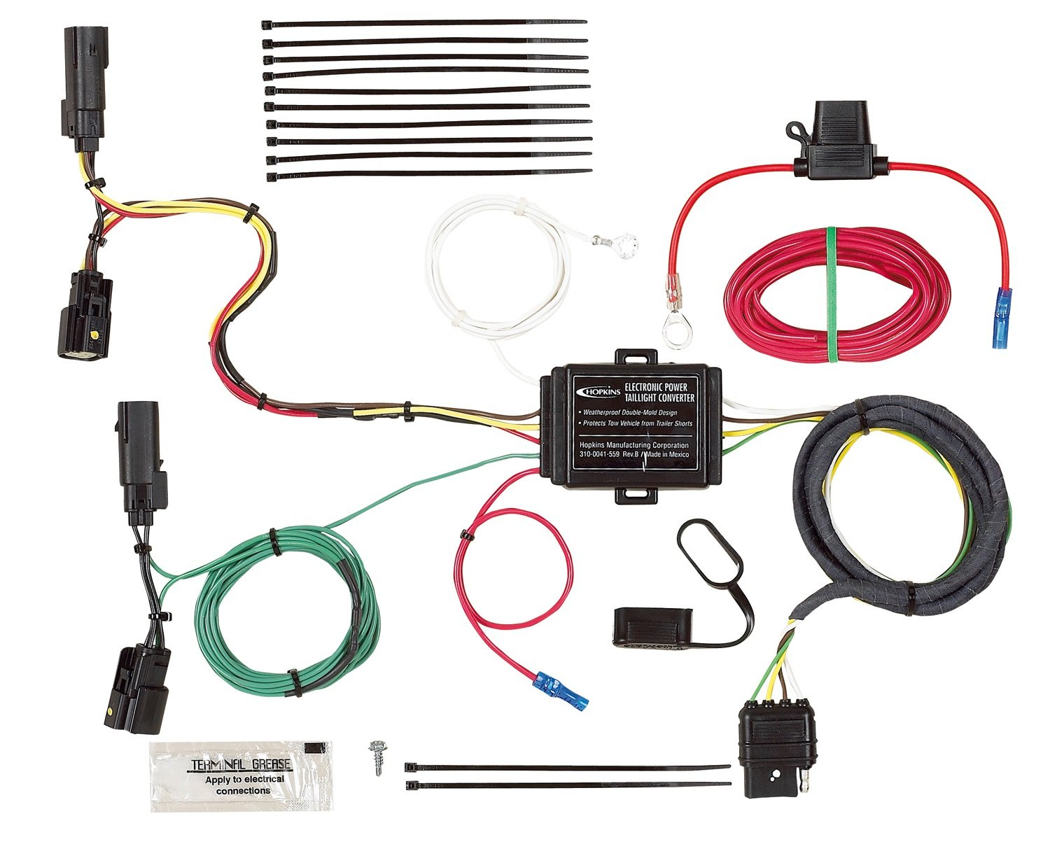 Hopkins 40514 Plug In Simple Vehicle Wiring Kit Automotive Due To The Power Circuit Of