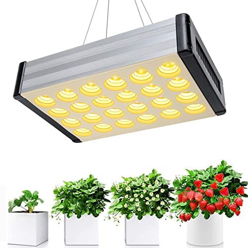 1000W LED Grow Light, Relassy Full Spectrum Sunlike Plant Growing Lamps for Indoor Greenhouse Hydroponic Plants Germination Veg Flowering Fruting
