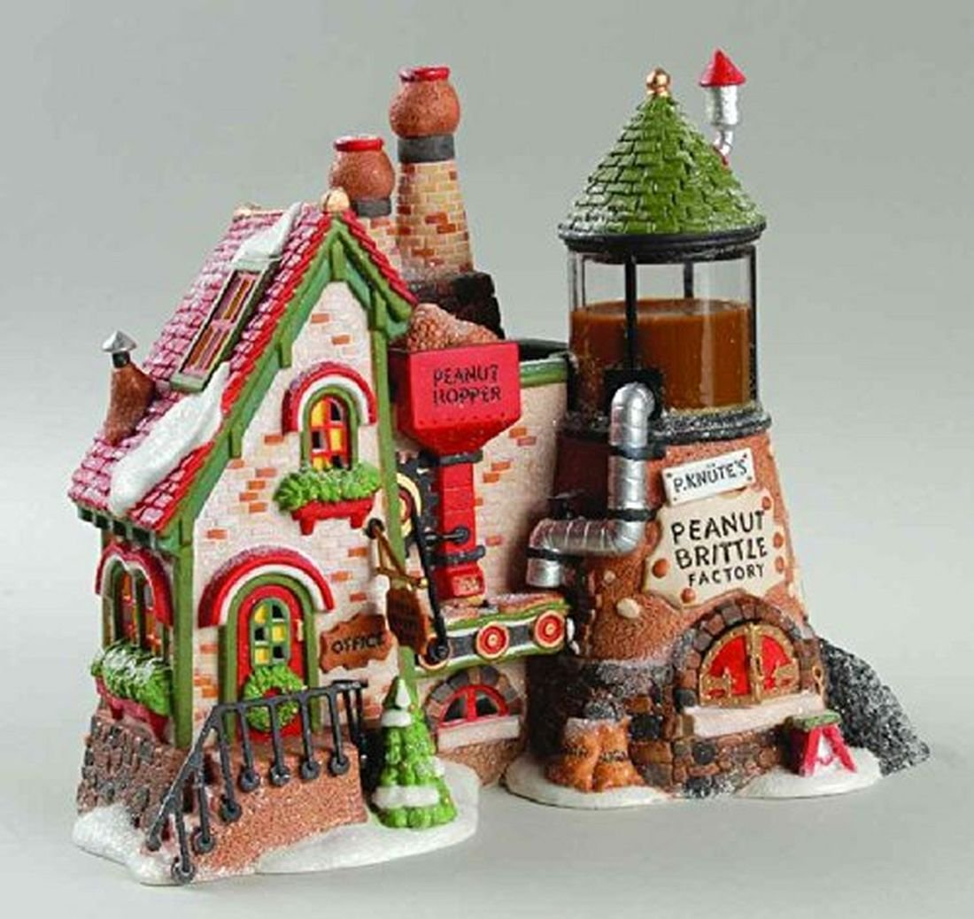 Dept. 56 North Pole Series Peanut Brittle Factory