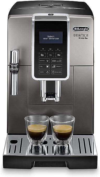 DeLonghi ECAM359.37.TB Dinamica Aroma Bar - Cafetera automática ...