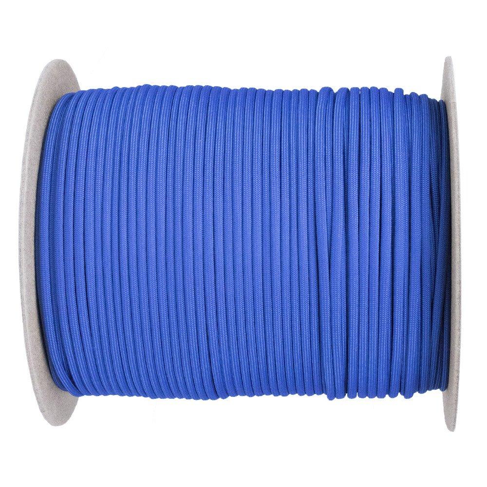 (パラコードプラネット) Paracord Planet パラコード (50色以上)1,000フィート巻き 250フィート巻き 100フィート束 B01LYQBF76 Royal Blue 1000 Feet 1000 Feet|Royal Blue