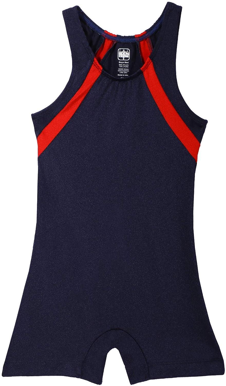 ボーイズ、メンズ対角線カット体操Singlet – のさまざまな色 ネイビー/レッド Child Large (small 8-9 year old)