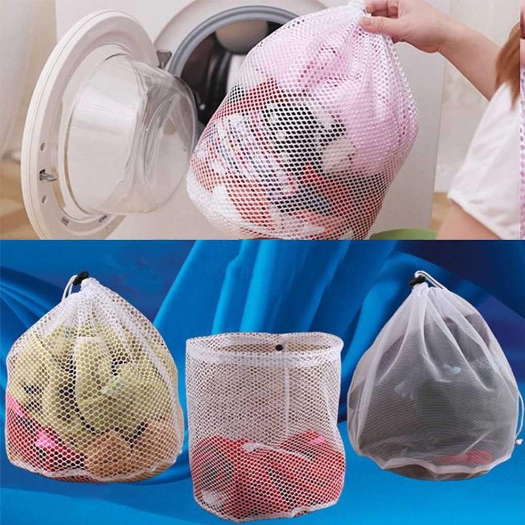 LUFA Lavado Bolsa de lavander/ía Lavadora Bolsas de malla Herramientas de limpieza dom/éstica Accesorios Lavado de ropa Cuidado Rejilla fina S