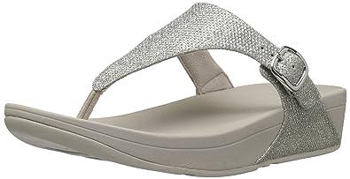 a0085e07ba80 Fitflop Women s The Skinny Sparkle Flip Flop  Amazon.co.uk  Shoes   Bags