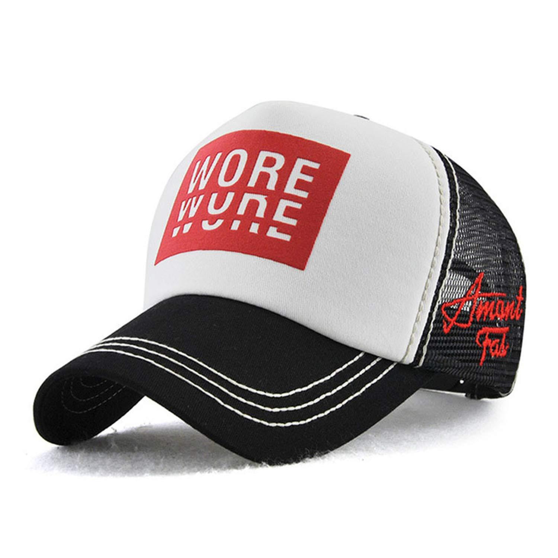 TokLask Printed Cotton Cap Summer hat for Men /& Women mesh Baseball Cap Breathable Hip hop Cap Baseball Cap