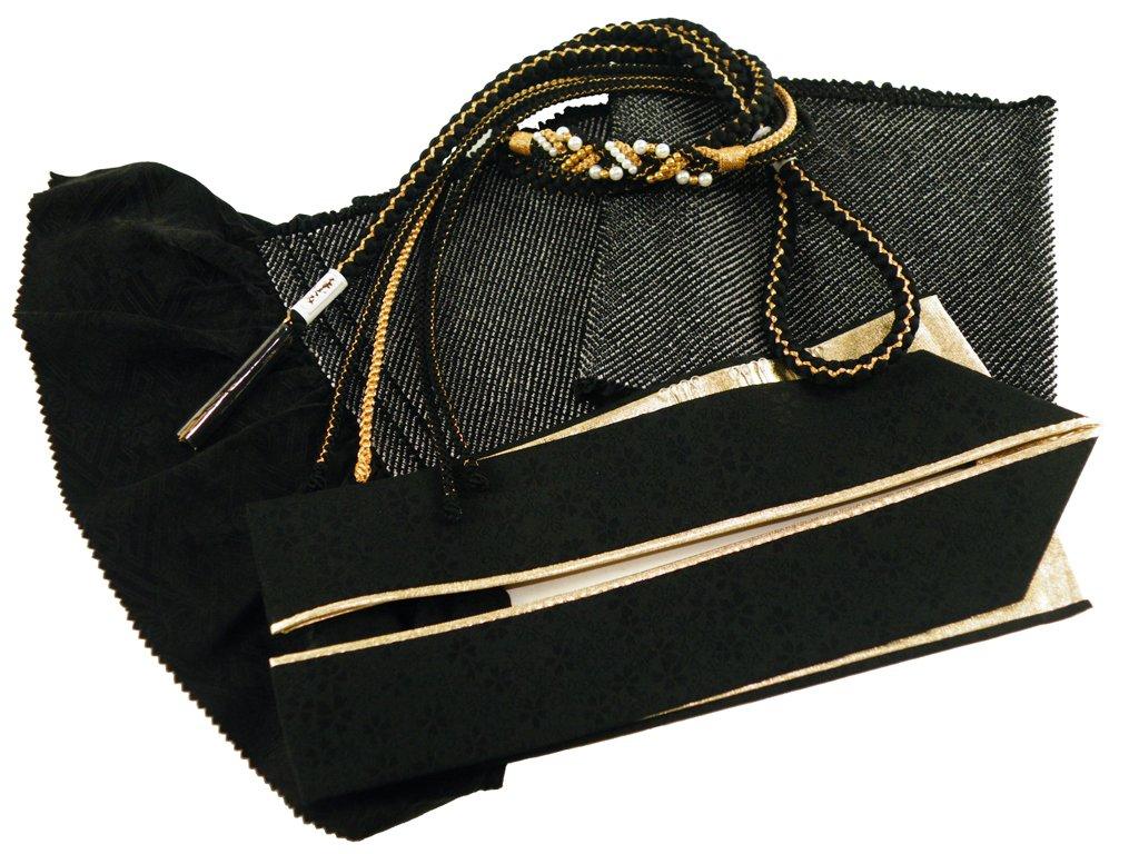 【さらさ】 振袖用 正絹 四ッ巻絞り 帯揚げ帯締め重ね衿 3点セット B076DCRJKP h-365 h-365