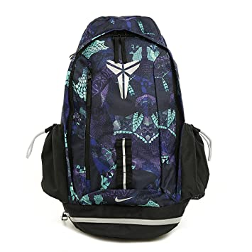 637ad55ff133 Nike Kobe Mamba Basketball Backpack Black Radiant Emerald Metallic Silver   Amazon.ca  Sports   Outdoors