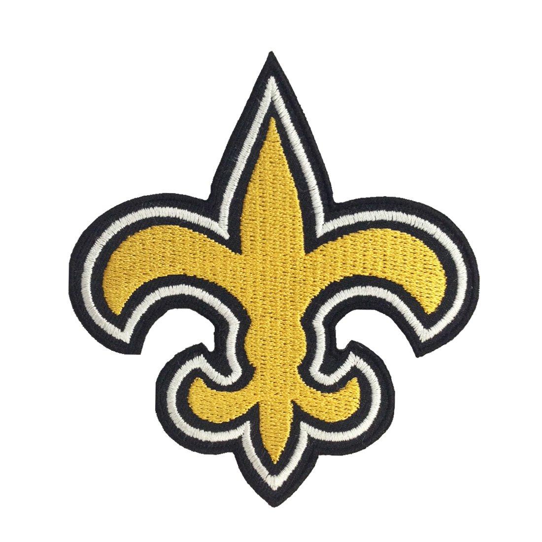 Amazon 1 x new orleans saints logo i embroidered iron patches amazon 1 x new orleans saints logo i embroidered iron patches sports outdoors buycottarizona Choice Image