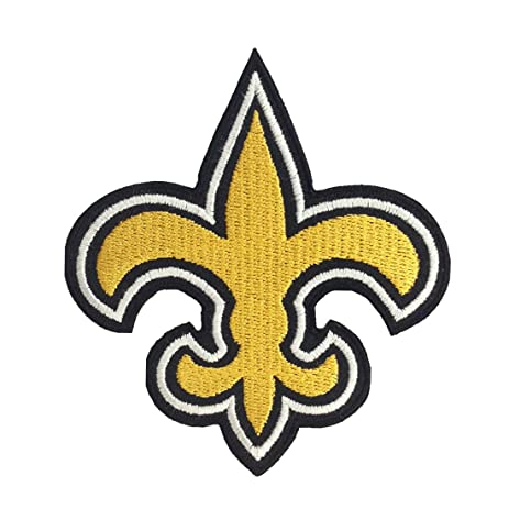 Amazon 1 X New Orleans Saints Logo I Embroidered Iron Patches