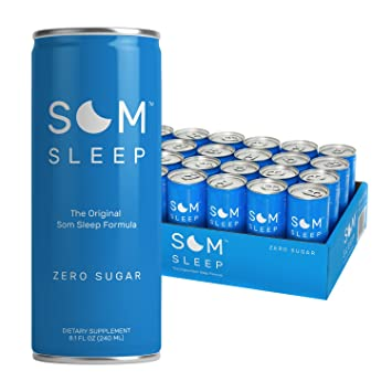 Som Sleep, The Original Sleep Support Formula with Melatonin, Magnesium, Vitamin B6,