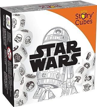 Star Wars Rorys Story Cubes Unisex Juego de Mesa Multicolor, Papel,: Amazon.es: Juguetes y juegos