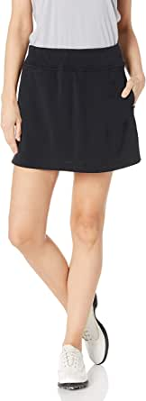 """PGA TOUR Womens PVBS6004 16"""" Airflux Solid Knit Skort with Tummy Control Solid Skort"""