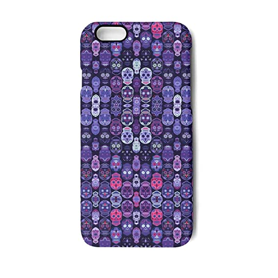 amazon com yuwerw fgqq purple skull fashion design cool uniqueyuwerw fgqq purple skull fashion design cool unique waterproof cell phone cases for iphone 6 plus