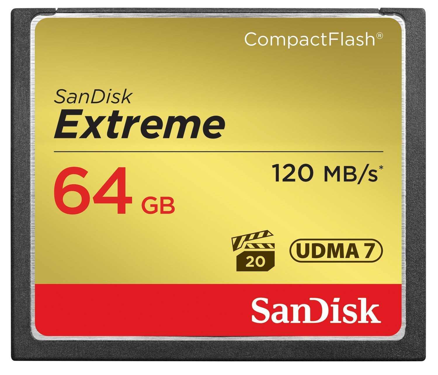 B00EZE6V50 SanDisk Extreme 64GB Compact Flash Memory Card by SanDisk