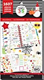 me & my BIG Ideas Create 365 PPSV-24-2048 The Happy Planner Teacher Edition, 1607 Seasonal Stickers