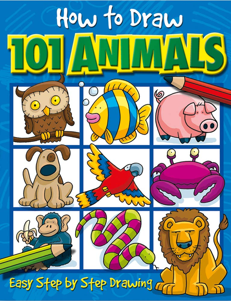 How To Draw Animals 101 Book for $3.79 Shipped