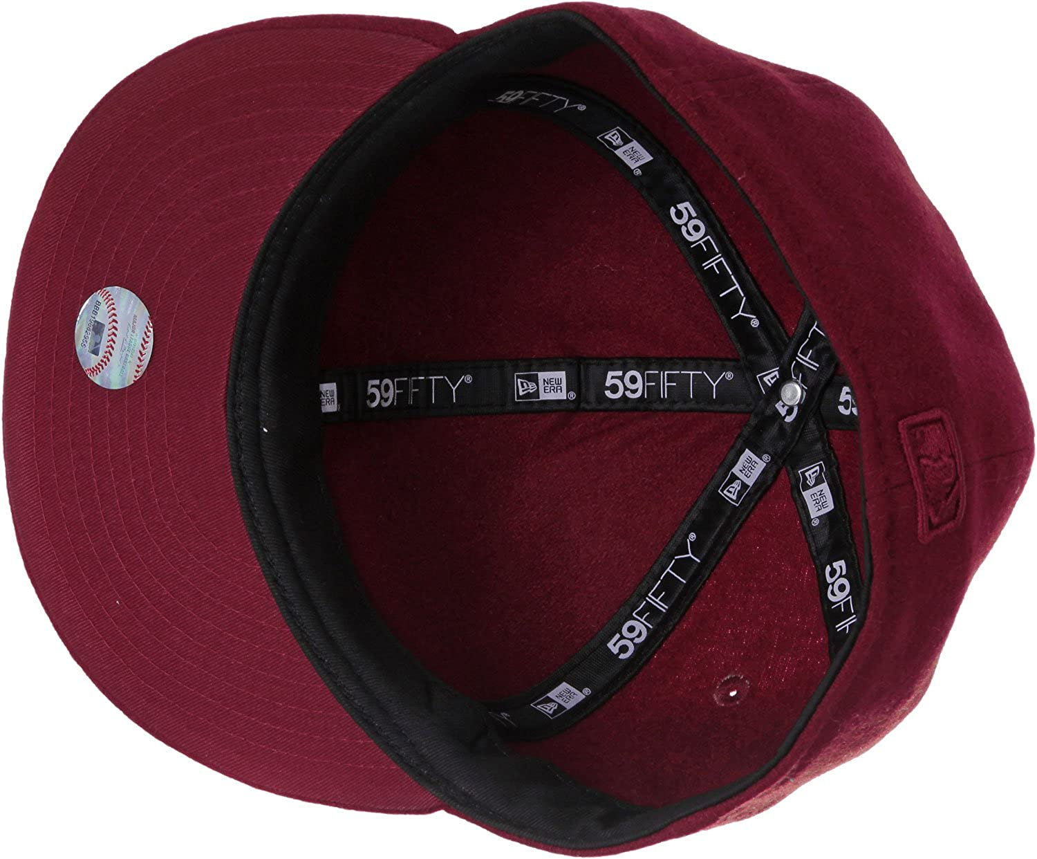 e823237f614d2b New Era Men Caps/Fitted Cap Melton Metal LA Dodgers red 7 3/8-58,7cm:  Amazon.co.uk: Clothing