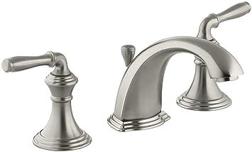 Kohler Devonshire K 394 4 Bn 2 Handle Widespread Bathroom Faucet