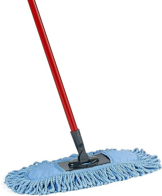 Amazon Com O Cedar Dual Action Microfiber Sweeper Dust Mop Home Kitchen