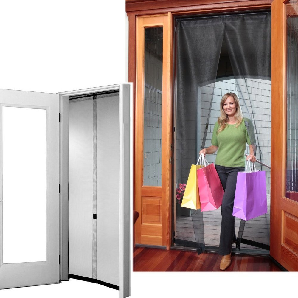 single front doors. amazon.com : bug off 36 by 80 instant screen, fits standard single front doors and 6-foot sliding glass retractable screen garden \u0026 outdoor