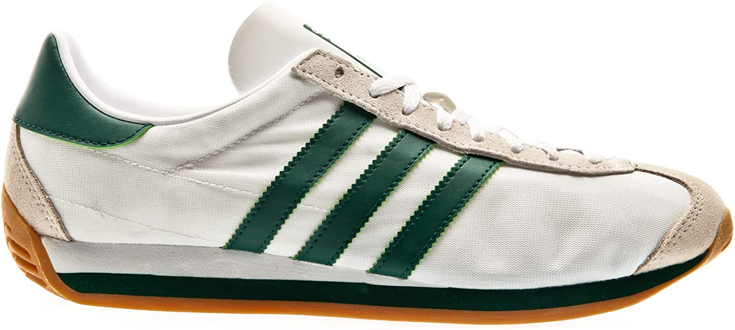 adidas Originals Country OG, Footwear White-Collegiate Green-Clear Brown
