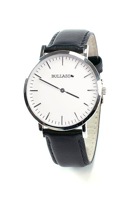 Herrenuhr VerschFarben Mit In Damenuhr Klassischem Bullazo SencilloEdle UhrwerkLederarmband ZiffernblattQuarz EH29YDIW
