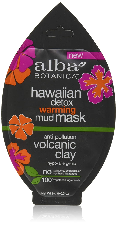 Alba Botanica Alba hawaiian detox warming mud mask anti-polution volvanic clay .3oz, 0.3 Ounce