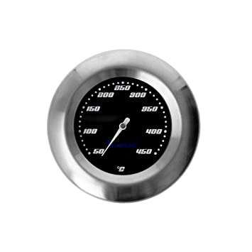 Termómetro para barbacoa/ahumador/ahumado/parrilla carro. Analógico/bimetal/acero